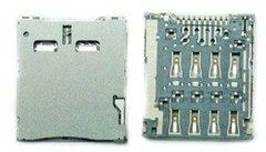 Коннектор SIM для Samsung Galaxy S4 Zoom (C101)