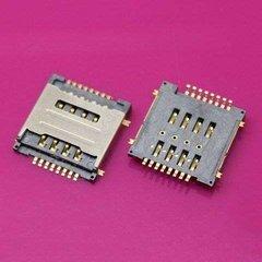 Коннектор SIM для Lenovo S660